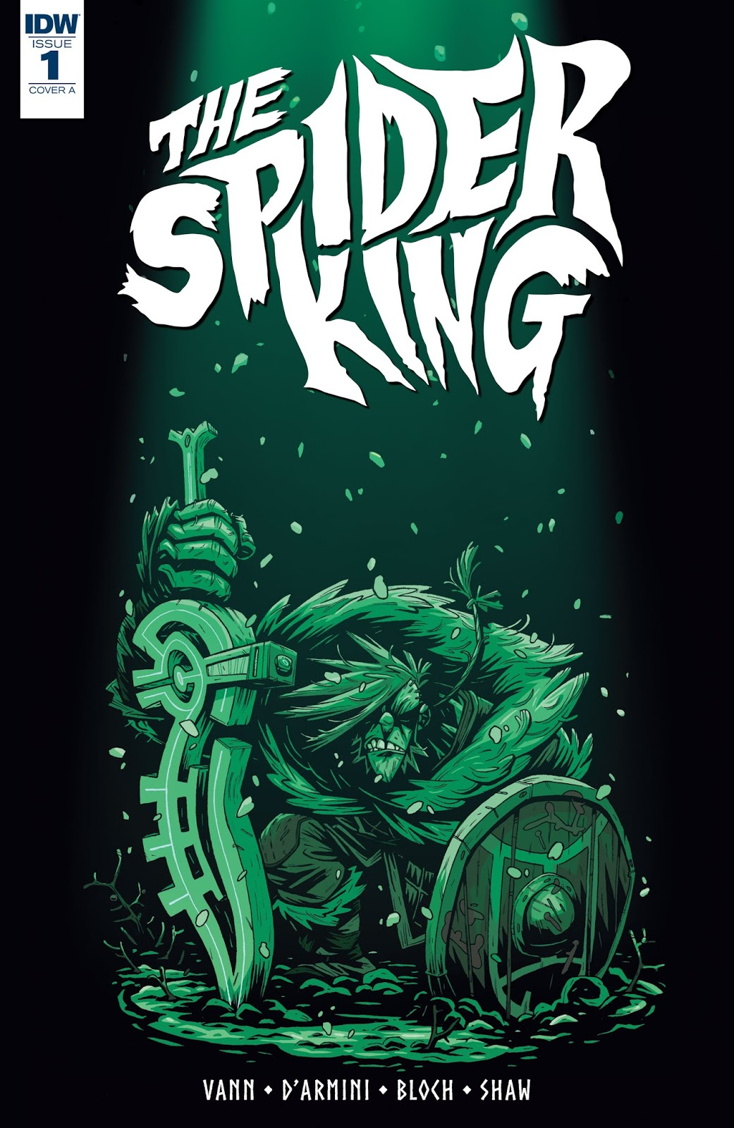 The Spider King cover by Simone D'Armini
