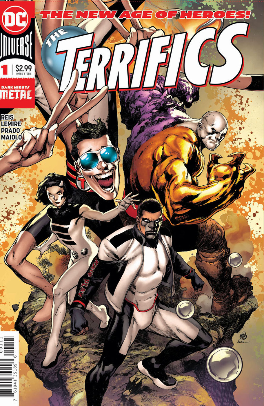 The Terrifics by Ivan Reis